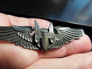 WW2 Three Inch USAAF Aerial Gunner Wing By Moody Brother L. A. California