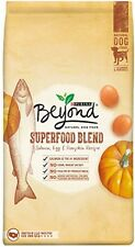 Purina Beyond Natural Dry Dog Food, Superfood Blend, Salmon, Egg And Pumpkin Of