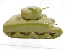 MES-50776Alter Goebel Keramik Panzer L:ca. 62mm,mit kleinem Farbschaden am MG