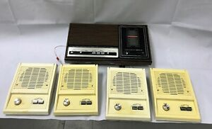 Vintage Nutone Music Voice Home Intercom System UNTESTED