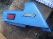 1988 SKIDOO STRATOS snowmobile parts: RIGHT SIDE BACK SHOCK COVER 572-0120-00