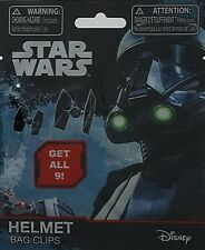 Star Wars Bag Clips, 9 Helmets To Collect, 5 Blind Bags With 1 Helmet Included