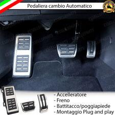 SET PEDALIERA COPRIPEDALI COPRI PEDALI PER CAMBIO AUTOMATICO VW AUDI SKODA SEAT