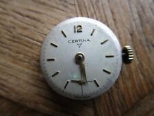 Vintage Ladies CERTINA Manual Movement Cal. 19-10. For Parts.