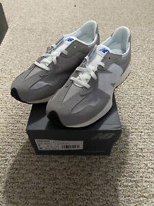 New Balance 327 Grey White Size 7 Kid's/Men's YS327CKA Gray