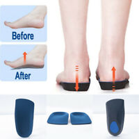 Men Gel Orthotic Sport Running Insoles Insert Shoe Pad Arch Support Cushion Hot