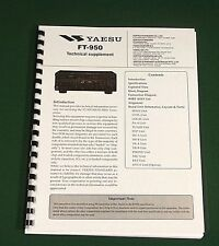 """Yaesu FT-950 Service Manual: With all 11""""X17"""" Foldout Diagrams! (full color)"""