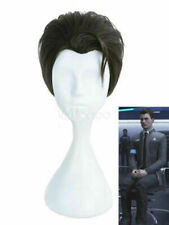 Black Shape Realistic Detroit Become Anime Connor Cosplay Wig