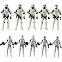 "Lot 2-10 Star Wars 3.75"" Stormtroopers OTC Trilogy & No.5 Clone Trooper Figures"