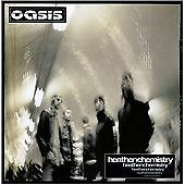 OASIS - HEATHEN CHEMISTRY -  CD ALBUM - STOP CRYING YOUR HEART OUT / SONGBIRD +