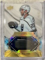 2019-20 ENGRAINED ALEC MARTINEZ GAME USED STICK RELIC /65 R-MZ LA KINGS SP