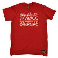 Cycling T-Shirt Funny Novelty Mens tee TShirt - Bikesexual