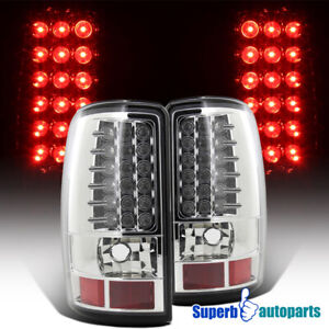 For 2000-2006 Yukon Denali Tahoe Suburban LED Tail Lights Brake Lamp/