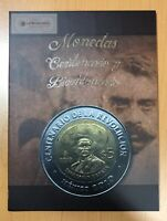 Mexico Independence & Revolution $5 Pesos Coin Collector Album Folder