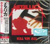 METALLICA-KILL 'EM ALL (2016 Remastered)-JAPAN SHM-CD E78