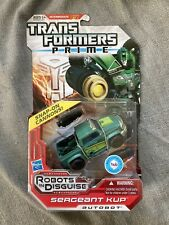 Transformers Prime Robots In Disguise RID Sergeant Kup Deluxe Class