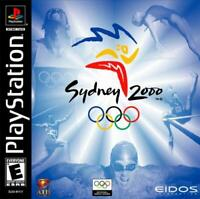 Sydney 2000 Official Olympics Playstation Game PS1 Used Complete
