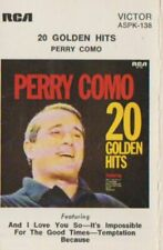 CASSETTE.  CT225   20  GOLDEN HITS   PERRY COMO