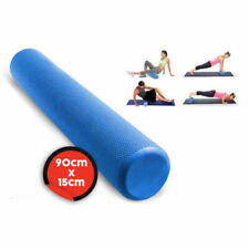 90x15cm EVA PHYSIO FOAM AB ROLLER YOGA PILATES EXERCISE BACK HOME GYM MASSAGE
