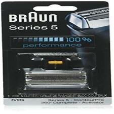 Braun Series 5 51S Foil & Cutter Replacement Head Compatible With Previous Serie