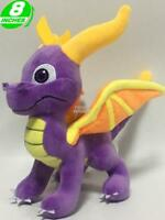 "NEW RELEASE 8"" Spyro The Dragon Plush Stuffed Spyro Doll Game Manga STPL8002"