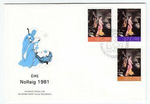 Ireland 1981 FDC Christmas Issue