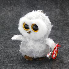 "3.2"" Ty Beanie Boos owlette Stuffed Plush Toys Child Gift Animals Toys Hot Doll#"