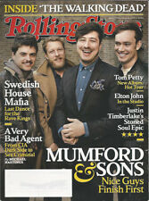 MUMFORD & SONS Rolling Stone magazine March 2013 SWEDISH HOUSE MAFIA