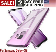 Samsung Galaxy S9 Case Ultra Slim Fit TPU Rubber Soft Silicone Phone Cover Clear