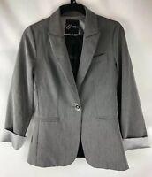 GUESS , Women's Blazer, Jacket, Size S, Gray, Lined, K