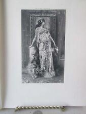 Vintage Print,SARAH BERNHARDT AS CLEOPATRA,Great Men+Famous Women,1894