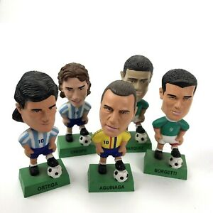 Soccer Headz Bobblehead Lot Marquez Crespo Borgetti Aguinaga Ortega Figures