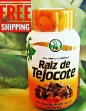 RAIZ DE TEJOCOTE ROOT 120 CAPSULES 500 MG. EACH 2 MONTHS SUPPLY WEIGHT REDUCER