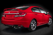 PRE-PAINTED for HONDA CIVIC SI 4DR 2013 2014 2015 SPOILER WING NEW ALL COLORS