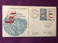 """FDC Italia Repubblica 1957 """"Europa"""""""