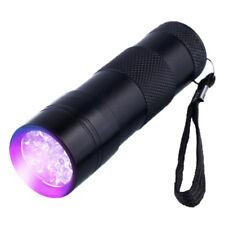 12 LED UV Torch Ultra Violet Flashlight Lamp Camping Money Checker 395NM EA5145