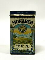 Vintage Reid, Murdock & Co Monarch 4 ounces Black Tea Advertising Tin Chicago IL