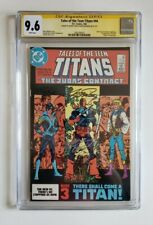 Teen Titans #44 CGC 9.6 Signed by George Perez and Wolfman 1st Nightwing