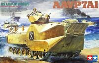 Tamiya 35159 US Marine AAVP-7A1 with UGWS 1/35 Scale Plastic Model Kit