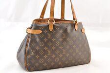 Authentic Louis Vuitton Monogram Batignolles Horizontal Tote Bag M51154 LV 47098