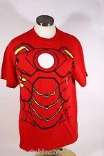 Avengers Red Iron Man Logo Large L Tshirt 015