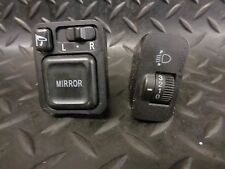 2004 HONDA JAZZ 1.4 i-DSi SE 5DR WING MIRROR & HEADLIGHT ADJUSTER SWITCHES