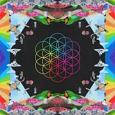COLDPLAY A HEAD FULL OF DREAMS CD ALBUM (2015)