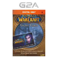 WoW GameCard 60 Days Timecard - World of Warcraft Prepaid Code 60 Day US NEW