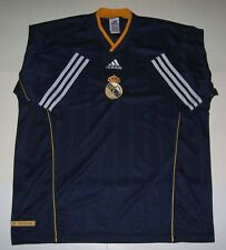 RARE MAILLOT REAL MADRID,L,1999,2001 ?,ADIDAS OFFICIAL TRAINING,FOOTBALL,JERSEY