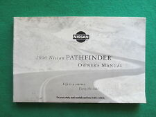 2000 00  Nissan Pathfinder  Owners Manual G21