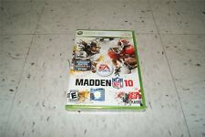 Madden NFL 10 Xbox 360 Football Game NEW SEALED