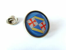 GRAND MASTER KNIGHTS TEMPLAR JACQUES DE MOLAY PIN BADGE
