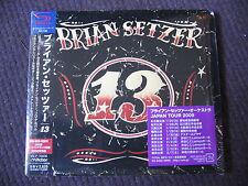 SHM CD DIGIPACK IMPORT JAPON AVEC OBI BRIAN SETZER - 13 /  neuf  & scellé