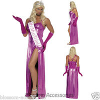 CL442 Mr Miss World Mens Funny Bucks Stag Night Fancy Dress Party Costume Outfit